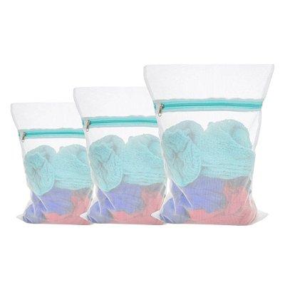 Saco Para Lavar Roupas Delicadas Kit 3 Unid. P/M/G