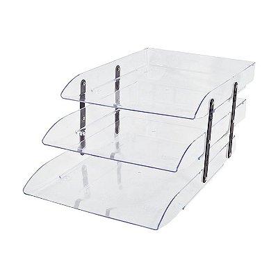 Caixa Correspondência Articulável Transparente - 35,5 x 12 x 25,3 cm