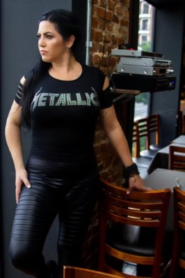 T-shirt Rock Metallica