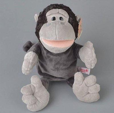 Fantoche de Pelúcia Chimpanzé 30cm