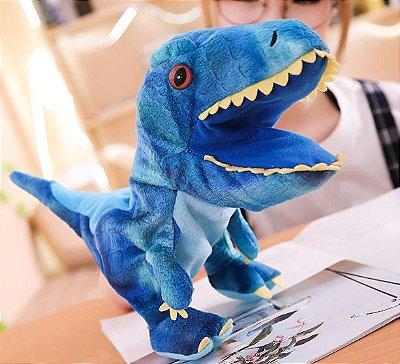 Fantoche de Dinossauro de Pelúcia 30cm