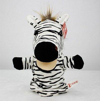 Fantoche de Mão Zebra 25cm