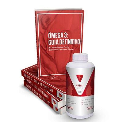 Ômega 3 Vhita com alta concentração de EPA e DHA com Livro digital exclusivo de brinde