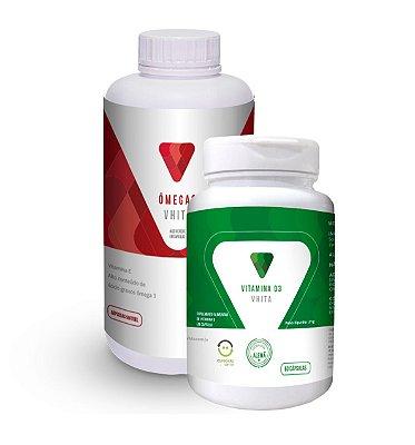 Combo: Ômega 3 + Vitamina D com 10% OFF