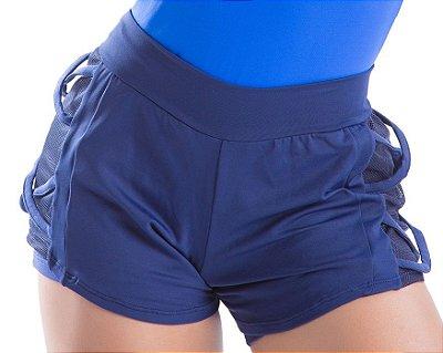 Short Running X Azul Marinho