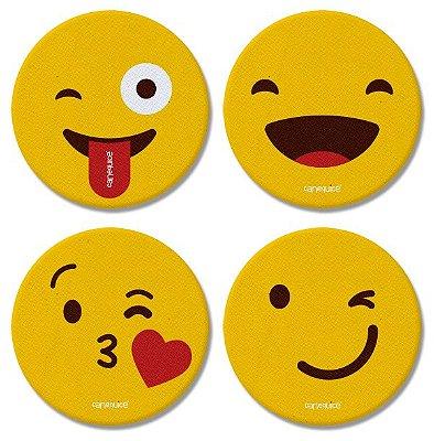 Porta Copos Emoji