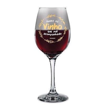 Taça de Vinho Só Vinho