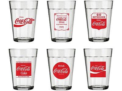 Conjunto Copo de Boteco Coca-Cola
