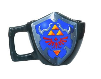 Caneca Escudo Zelda 3D  - The Legend Of Zelda