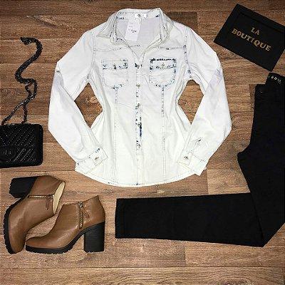 Camisa Jeans Start Winter White