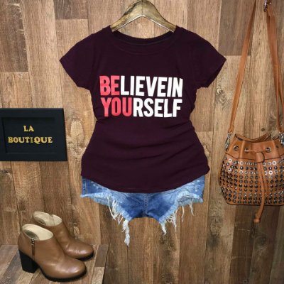 T-shirt Believe In Yourself
