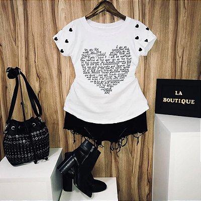 T-shirt Heart Love