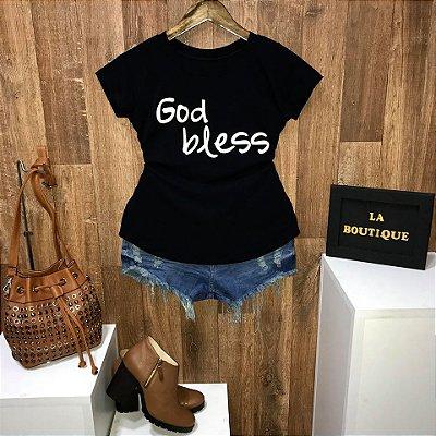 T-shirt God Bless Deus Abençoe