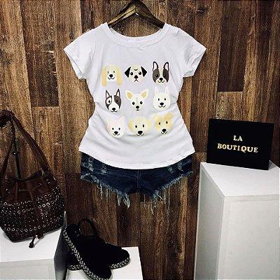 T-shirt Nine Dogs