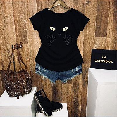 T-shirt Mysterious Cat