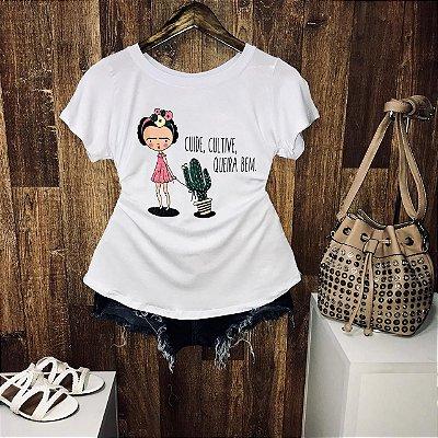 T-shirt Cuide Cultive Queira o Bem