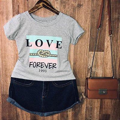 T-shirt Love Forever Listras