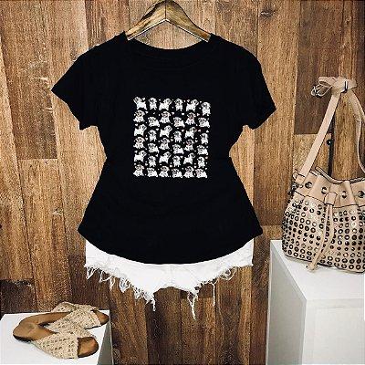 T-shirt Mini Pugs