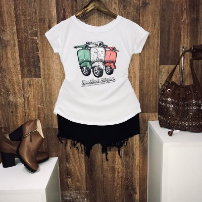 T-shirt Italian Style Scooter