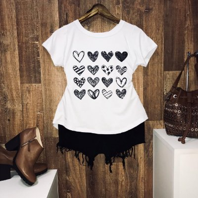 T-shirt  Sixteen Hearts