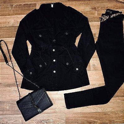 Parka Brim Jeans Black