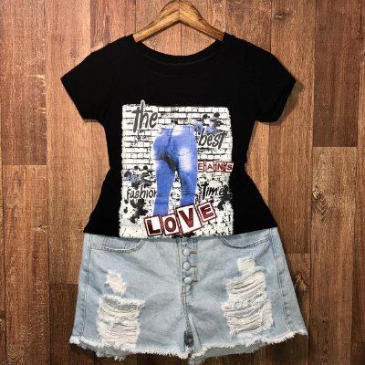 T-shirt I Love Jeans