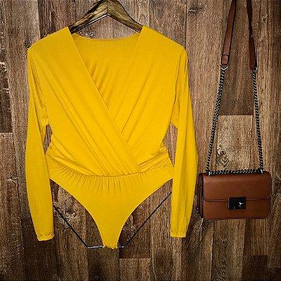 Body Transpassado Amarelo