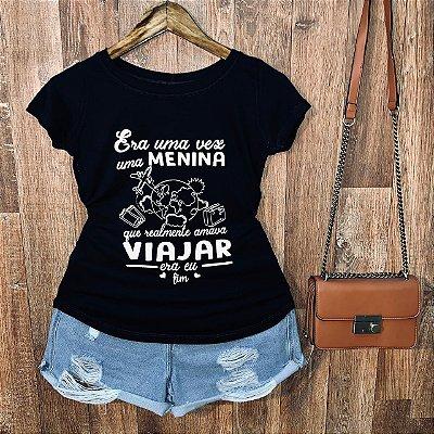 T-shirt Adoro Viajar