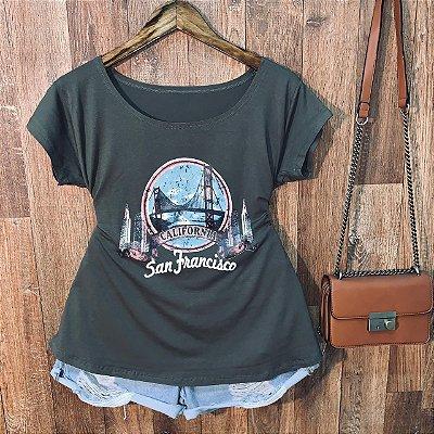 T-shirt Plus Size California San Francisco