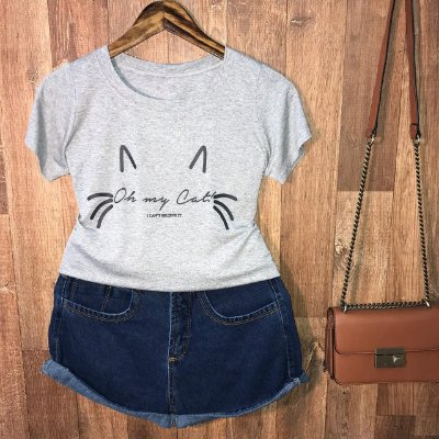 T-shirt Oh my cat