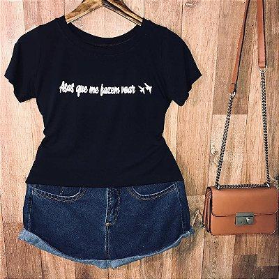 T-shirt Asas que me fazem voar