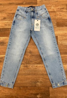 Calça Jeans Lady Rock Mom CL14007