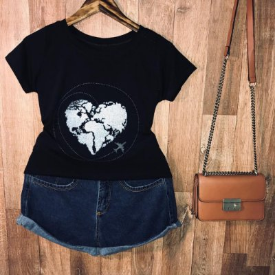 T-shirt  Love For Travel