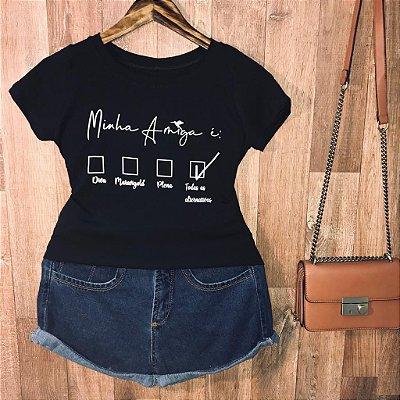 T-shirt Minha Amiga é...
