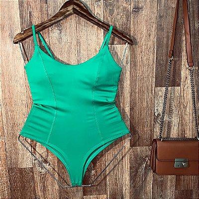 Body Alcinha Basic Verde