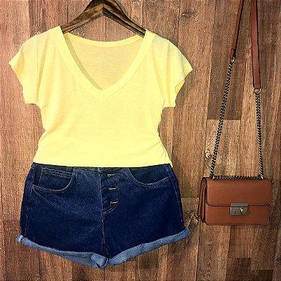 T-shirt Podrinha Amarelo claro