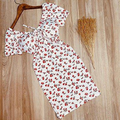 Vestido Floral Curto Rebeca