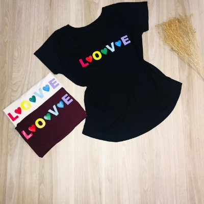 T-shirt Love Collors