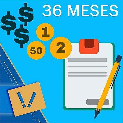 Planilha Excel De Cálculo Para Orçamento Familiar Pessoal Simples 36 MESES