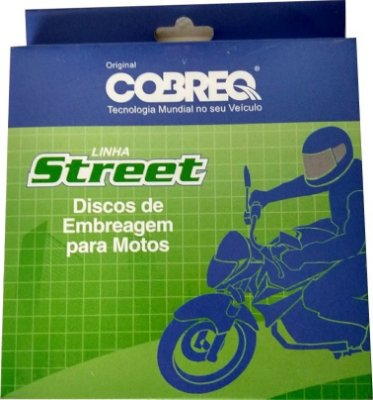 DISCO DE EMBREAGEM COBREQ CB 400 NX FALCON
