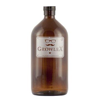 Growler Vidro Remédio (Classic) - 1 Litro