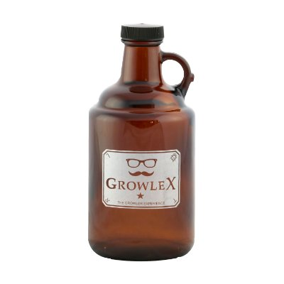 Growler Vidro 1L Americano (Old)
