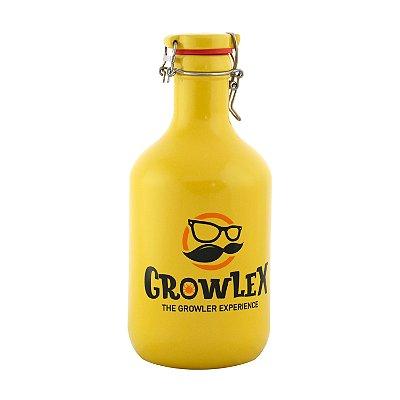 Growler Cerâmica Flip Top (Bigode) - 2 Litros