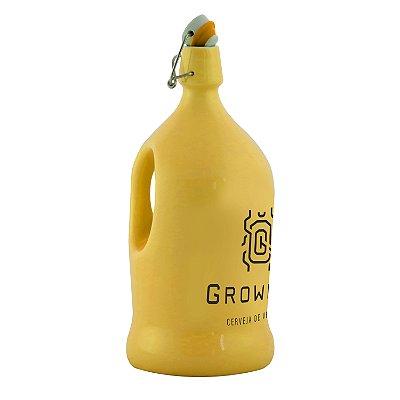 Growler Cerâmica Flip Top (Escaravelho) - 2 Litros