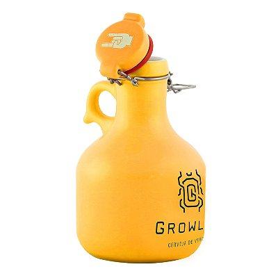 Growler Cerâmica Flip Top (Escaravelho) - 1 Litro