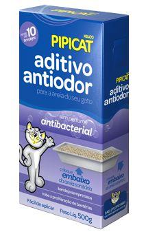 Aditivo Antiodor Pipicat Antibacterial 500g