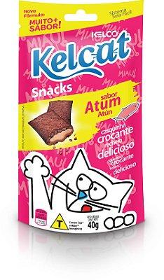 Petisco Para Gatos Kelcat Atum Snack 40g