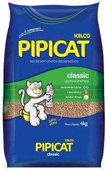Areia Para Gatos Pipicat Classic