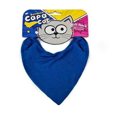Bandana Capa Cat - Azul Royal