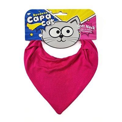 Bandana Capa Cat - Rosa Pink